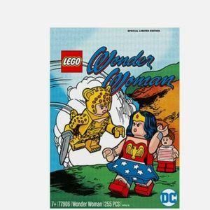 DC FANDOME 2020 EXCLUSIVE WONDER WOMAN LEGO SET 77